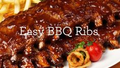 triple recipe pack easy BBQ ribs