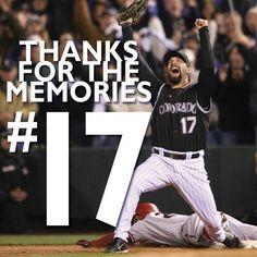 #ThanksTodd Rockies Todd Helton
