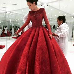 Opera singer Zarina Altynbayeva seen in a Michael Cinco gown fitting for her performances in Paris!