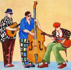 """Creating Rhythm"" - Original Fine Art for Sale - © Carolee Clark Music Painting, Figure Painting, Art Music, Bright Colors Art, Modern Drawing, Clark Art, Easy Paintings, Abstract Paintings, Abstract Art"