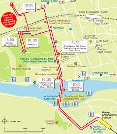 Beginner course |Arashiyama Walk | Travel by Hankyu rail [ ARASHIYAMA Navi ]