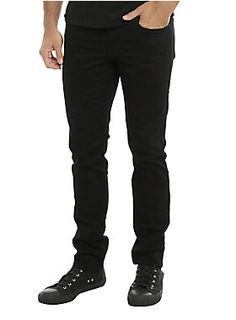 Our skinny jeans just got even better. The XXX RUDE Skinny has been revamped with a heavier, more compact fabric for a more durable fit. We've updated thereactive dye method for longer color retention and better fabric strength - basically, your black jeans will stay black longer! With your favorite low rise and slim fit throughout the body and leg, we see these becoming your favorite pair as soon as you put them on.5-pocketsand button and zipper fly.      98% cotton; 2% spandex   Wash…