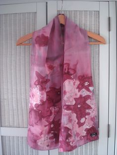 New hand painted silk scarves coming soon for 2013