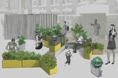 Urban Commons kitchen garden by Shawn Ashkanasy and Justin Hutchinson of Urban Commons.