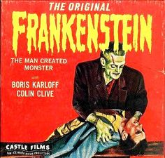 Castle Films was a home-movie distributor founded in California by former newsreel cameraman Eugene W. Castle in The company originally produced business and advertising films. In Castle branched out into and home movies, buying … Cool Monsters, Famous Monsters, Classic Monsters, Classic Horror Movies, Horror Films, Home Movie Projector, The Modern Prometheus, Super 8 Film, Best Movie Posters