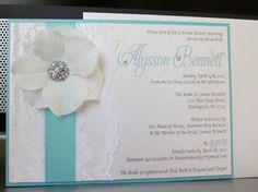 TIFFANY boda temática ducha invitación  azul por peachykeenevents, $5.00