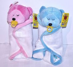 fb3bd3d471f Skansen beanie kids giggle   wriggle the twin bears retired bk302 303 toy  bnwts