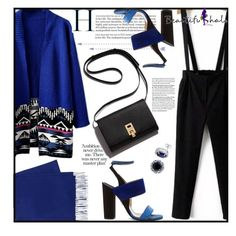 beautifulhalo by jiabao-krohn on Polyvore featuring polyvore, fashion, style, Paul Andrew, BERRICLE, Yves Saint Laurent, clothing and beautifulhalo