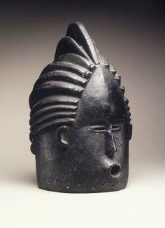 Bassa Helmet Mask for Sande Women's Society, Liberia