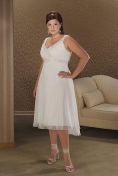 Image detail for -Plus Size Casual Women Wedding party Dresses Trends 2013 Plus Size ...