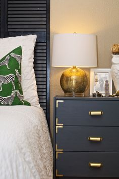 love this ikea hack for bedside tables