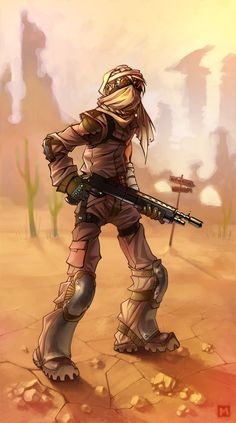 Post-Apocalyptic, Survival, NeWada, 200 miles by ~Kira-Mayer on deviantART