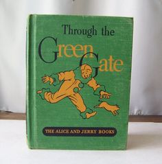 Vintage Through The Green Gate Alice and Jerry by CynthiasAttic