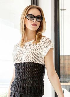 Lana Grossa KIMONOPULLI IM NETZMUSTER Cashsilk - FILATI Handstrick No. 63 (Home)  - Modell 23 | FILATI.cc WebShop