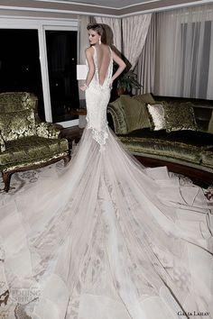 Sheath Wedding Dress : Galia Lahav Fall 2015 Wedding Dresses