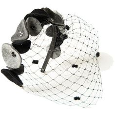 Awon Golding Millinery Circle Headband ($194) via Polyvore
