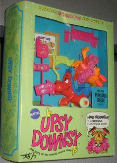 MATTEL: 1969 Upsy Downsy Miss Information #Vintage #Toys