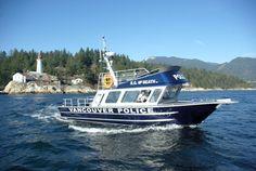 Vancouver police boat