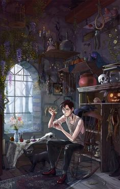 Concept Art Writing Prompt: The Witch's Son