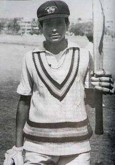 Sachin in his Teenage