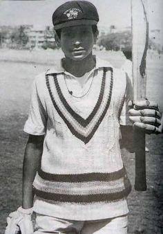 Sachin in his Teenage
