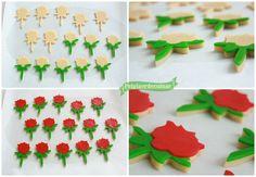 Pel Plaer de Cuinar: Unes mini roses per Sant Jordi! Bona diada!
