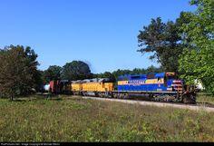 RailPictures.Net Photo: GLLX 3001 Marquette Rail EMD SD40-2 at Brohman, Michigan by Michael Biehn