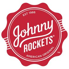 /PRNewswire/ -- Johnny Rockets global restaurant chain is celebrating its anniversary year with the debut of a brand refresh that builds on the brand's. Original Burger, 1950s Diner, Rockets Logo, Kid Friendly Restaurants, Logo Branding, Logos, American Restaurant, Soda Fountain, Logo Restaurant
