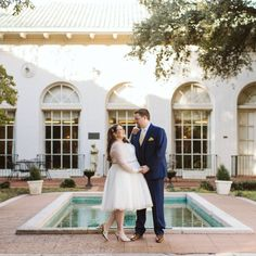 Tillar Garden at The Woman's Club of Fort Worth l Swan Photography Types Of Portrait, Fort Worth Wedding, Social Club, Engagement Couple, Swan, Love Story, Dallas, Backdrops, Romantic