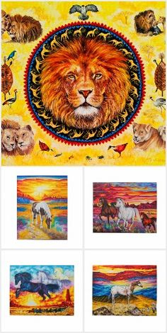 The Original Animal´s Puzzle Collection  We are trying to help children to make a world a better place to live in ...  #puzzle #alanjporterart #animals #dolphines #elephants #cats #horses #tiger #help #children #wolf