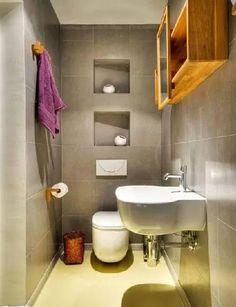 16張圖告訴你,小浴室也可以這樣打扮! - 壹讀