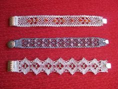 JOIES - anaiencajes - Álbumes web de Picasa Bobbin Lace Patterns, Create Picture, Lace Jewelry, Lace Making, String Art, Hobbies And Crafts, Knitting, Crochet, Accessories