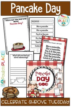 These Pancake Day activities for children will lead you to an understanding if its importance. Use the recipe as a reading task to make pancakes together. Comprehension Activities, Teaching Activities, Teaching Reading, Classroom Activities, Teaching Resources, Activities For Kids, Reading Comprehension, Teaching Money, Student Teaching