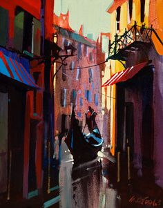 Venice in Light and Shadow, by Michael O'Toole