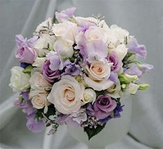 Bouquet di rose colorate per la sposa   (Foto 6/7) | Donna