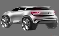 Citroën Aircross Concept to Debut at Shanghai Motorshow