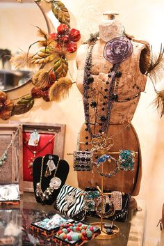 jewelry display: can I make some sort of mannequin to display my top necklaces on for my fall booths?