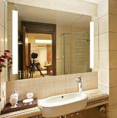 Decorative Illuminated Discount Mirrors For Bathroom Led Mirror, Round Wall Mirror, Mirror With Lights, Mirrors, Powder Room, Home Art, Vanity, Bathroom, Lighting