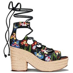6d3ac3ca89ae Visit Tory Burch to shop for Positano embroidered lace-up Platform  Espadrille and more Womens View All. Find designer shoes