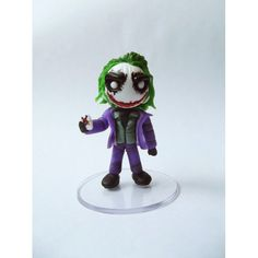 Coringa Biscuits, Halloween, Dc Comics, Polymer Clay, Toys, Garden, Character, Sticky Labels, Play Dough