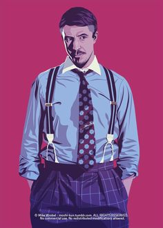 Lord Baelish (Game Of Thrones) / Illustration by Mike Wrobel