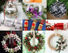 Only 205 days to go! Is it ever too early to start planning for Christmas? Take a look below & be inspired to start thinking about what your Christmas 2018 will look like! Christmas Crafts For Adults, Homemade Christmas Decorations, Christmas Ideas, 3d Paper Crafts, Diy And Crafts, Make Your Own Crackers, Festive Crafts, Beaded Christmas Ornaments, Yule