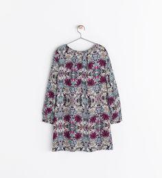 girls PRINTED DRESS from Zara #kids #style