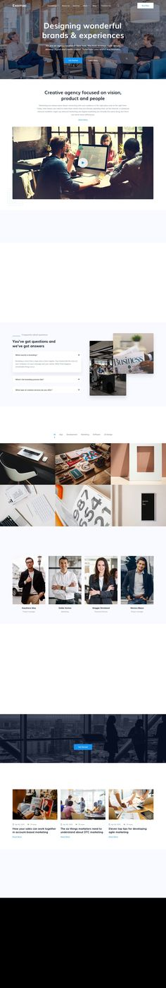 Exomac – Corporate Business HTML 5 by HasThemes on @creativemarket Website Themes, Corporate Business, Web Design, Design Web, Website Designs, Site Design