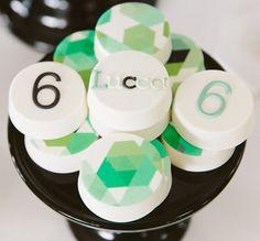 Hexagon Soccer Guest Dessert Feature | Amy Atlas Events