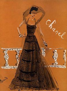 Christian Bérard. Chanel, 1937.