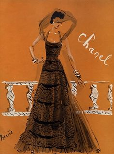 Christian Bérard. Chanel, 1937.