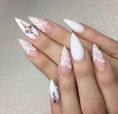 ⠀⠀⠀⠀⠀⠀⠀⠀⠀⠀⠀⠀ ⠀⠀⠀ ⠀⠀⠀⠀⠀⠀⠀ ⠀⠀ ❄️❄️Keeping it neutral ❄️❄️⠀⠀⠀ ⠀⠀⠀ ⠀⠀⠀⠀⠀⠀⠀⠀⠀ ⠀ ❄️New Nails for Erin❄️ ⠀⠀⠀ ⠀⠀⠀ Neutral Nail Designs, Red Nail Designs, Neutral Nails, Beautiful Nail Designs, Prom Nails, Wedding Nails, Love Nails, Pretty Nails, Acylic Nails