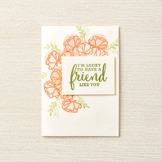 Make this lovely card using the products from the Just Getting Started Bundle. #stampinup #sharewhatyoulove