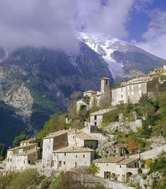 """""""Gateway to the Alps: Mont Ventoux towers over the ancient villages of the Provence Countryside"""""""